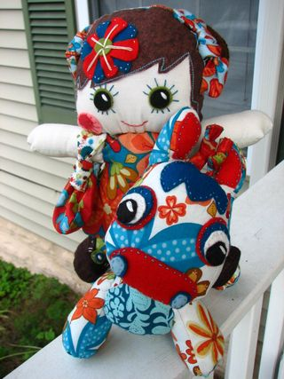 Whimsy Giraffe and Dollie Set 007