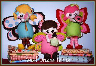 Sweet Dreams Fairies for Pattern