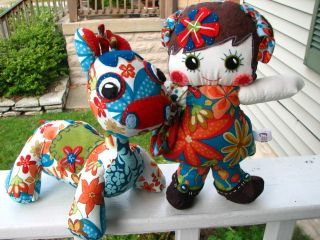 Whimsy Giraffe and Dollie Set 008